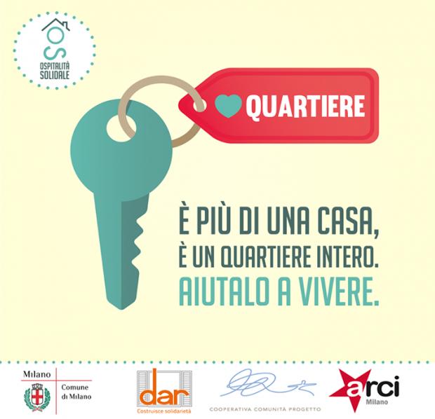 Ospitalità Solidale Milano quartieri di edilizia popolare Ponti Ca'Granda- Monterotondo